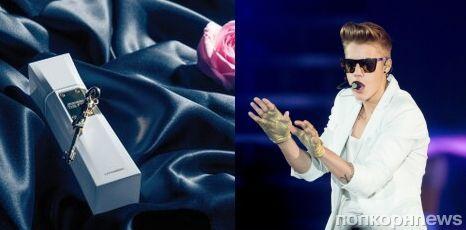 Джастин Бибер представил флакон нового парфюма