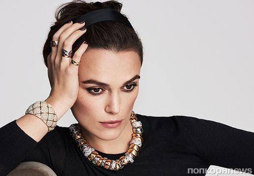 Кира Найтли стала лицом ювелирной линии Chanel Coco Crush