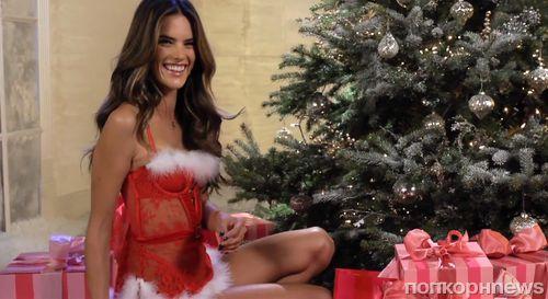 Рождественское видео от Victoria's Secret