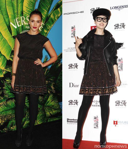 Fashion battle: Джессика Альба и Фан Бинг Бинг