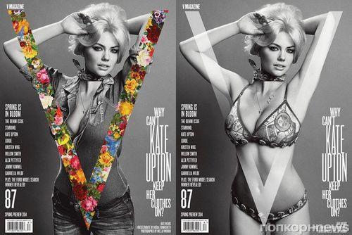Кейт Аптон в журнале V #87