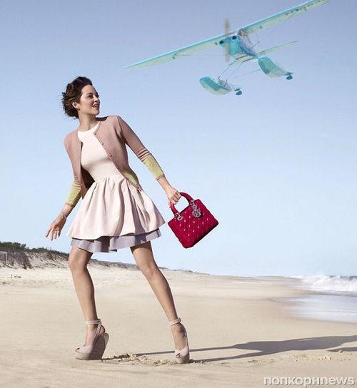 Новая рекламная кампания Lady Dior с Марион Котийяр: первый взгляд