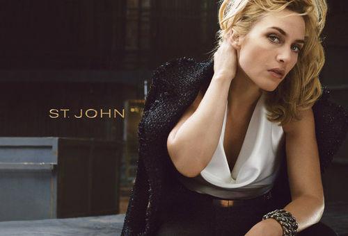 Кейт Уинслет - новое лицо марки одежды St. John
