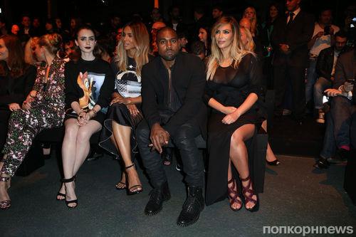 Модный показ новой коллекции Givenchy. Весна / лето 2014