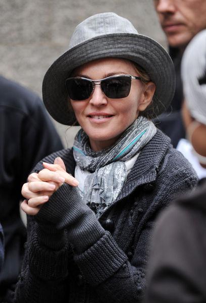 Мадонна примерила новый стиль