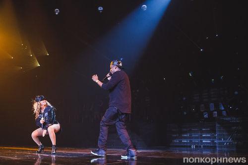 Видео: Сюрприз Jay Z и Бейонсе на концерте в Бруклине