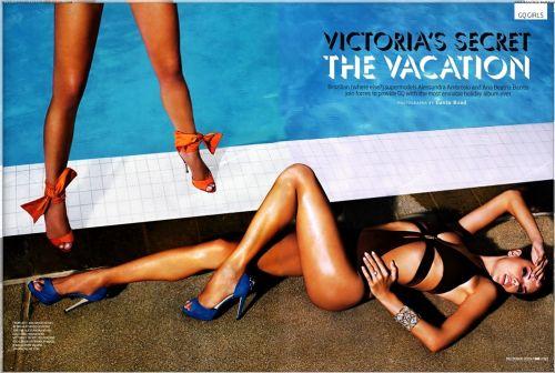 ��� ������ Victoria`s Secret � ������� GQ. ������� 2009