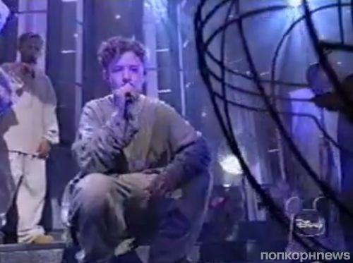 Видео: Маленькие Джастин Тимберлейк и Райан Гослинг исполняют Cry For You