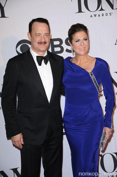 Звезды на церемонии Tony Awards 2013