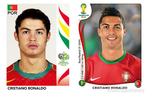 Звезды футбола: раньше и сейчас