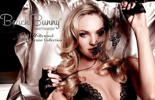 Кэндис Свэйнпоул в рекламе купальников Beach Bunny