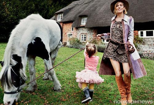 Сиенна Миллер в журнале Vogue. Январь 2015