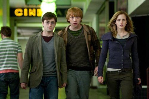 Небольшое видео со съемочной площадки «Гарри Поттер и Дары Смерти»