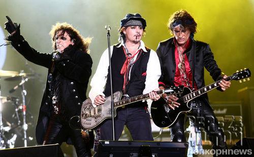 Джонни Депп выступит со своей группой на церемонии Грэмми-2016