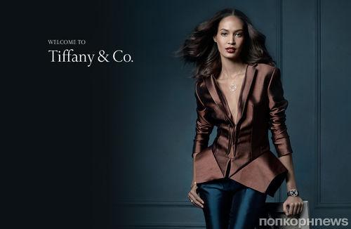 Джоан Смоллс в рекламной кампании Tiffany & Co. Осень 2013