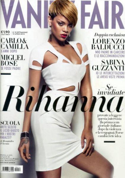 Рианна в журнале  Vanity Fair Италия