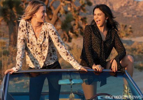 Звезды сериала «Ривердейл» снялись в рекламе джинсов