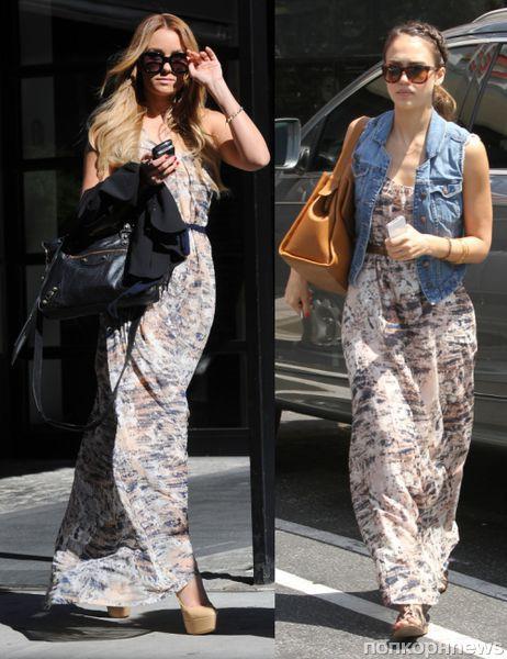 Fashion battle: Лорен Конрад и Джессика Альба