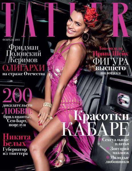 Ирина Шейк в журнале Tatler. Россия. Февраль 2011