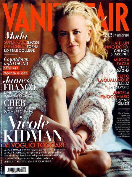Николь Кидман в журнале Vanity Fair. Италия. Январь 2011