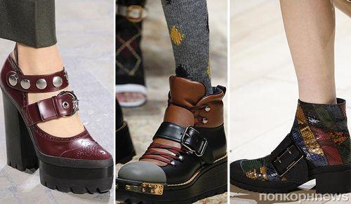 Модные тенденции обуви осень 2017 для женщин: фото