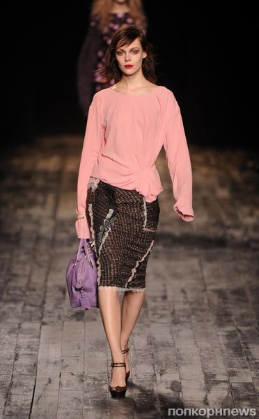 Модный показ Nina Ricci. Осень / зима 2012-2013