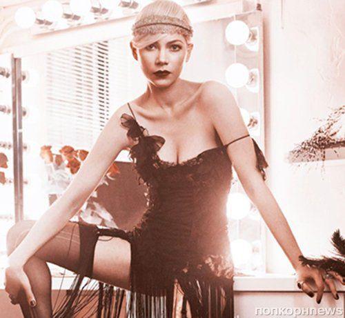 Мишель Уильямс в журнале Vogue. Апрель 2014