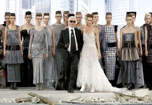 Модный показ Chanel Haute Couture. Осень / зима 2013-2014