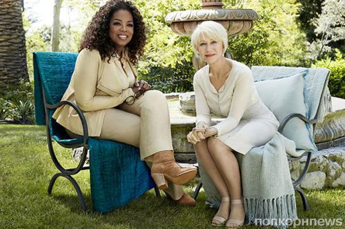 Хелен Миррен в журнале O, The Oprah Magazine. Август 2014