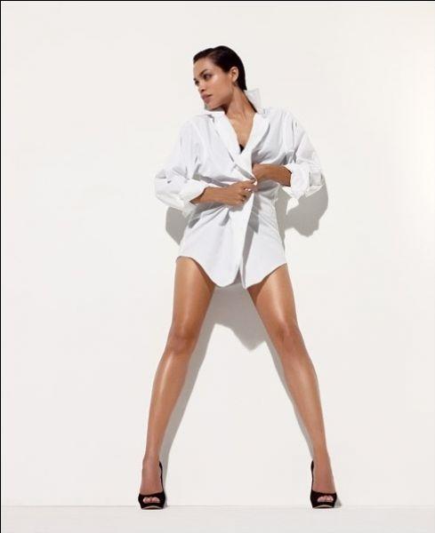 Розарио Доусон в журнале NY Times T Style. Весна 2009