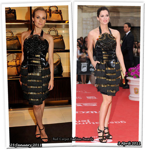 Fashion Battle: Дайан Крюгер и Мар Саура