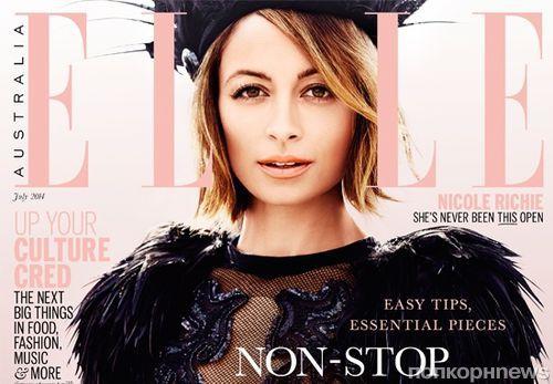 Николь Ричи в журнале Elle. Австралия. Июль 2014