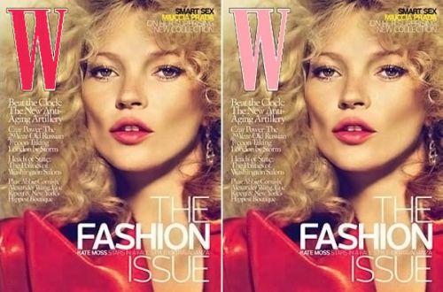 Кейт Мосс в журнале W. Сентябрь 2009