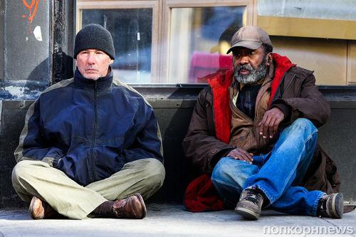 Бездомный Ричард Гир в Нью-Йорке