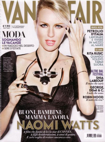 Наоми Уоттс в журнале Vanity Fair Италия