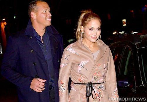 Фото: Дженнифер Лопес и Алекс Родригес на свидании в Нью-Йорке