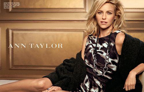 Видео: Наоми Уоттс для Ann Taylor