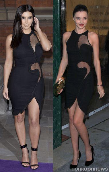 Fashion battle: Ким Кардашиан и Миранда Керр