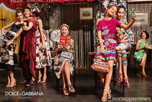 Все краски летней Италии в новой кампании Dolce & Gabbana - весна-лето 2016