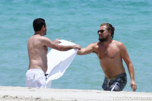 Леонардо Ди Каприо отдыхает в Майами