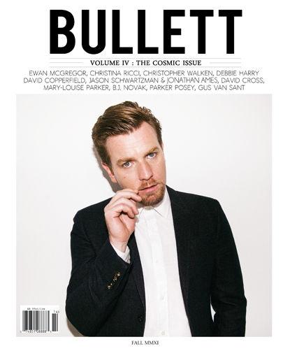 Юэн МакГрегор в комическом выпуске журнала Bullet