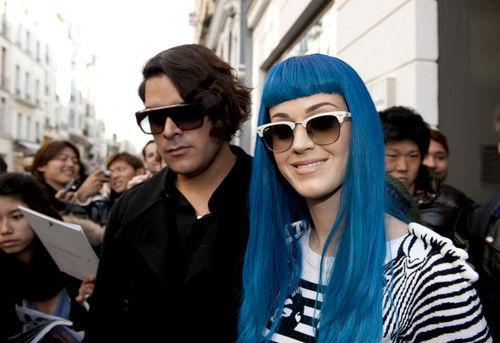 Кэти Перри на Неделе Моды в Париже