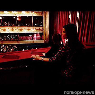 Виктория Бекхэм сходила с дочкой на балет