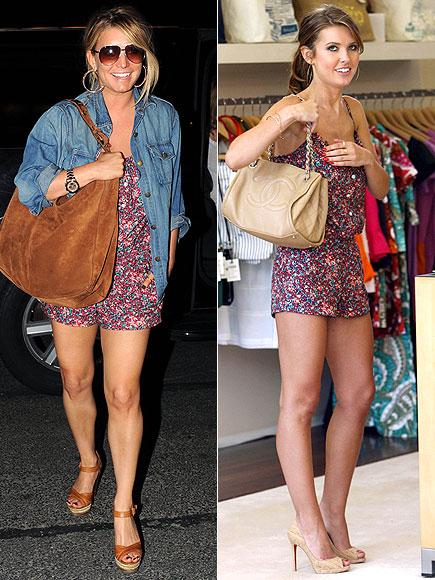 Fashion battle: Джессика Симпсон и Одрина Пэтридж
