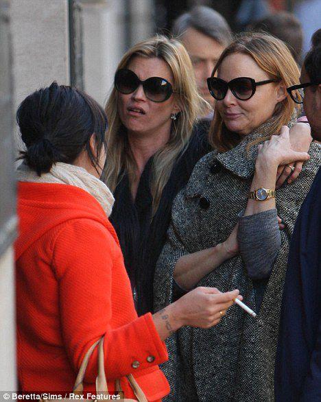 Давние подруги: Кейт Мосс, Лили Аллен и Стелла МакКартни