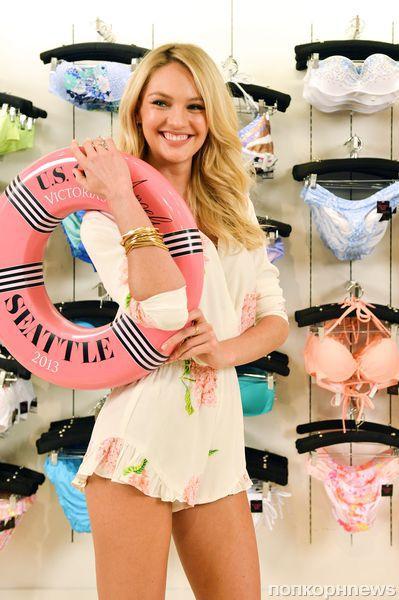 Кэндис Свейнпол - ангел Victoria's Secret в Вашингтоне
