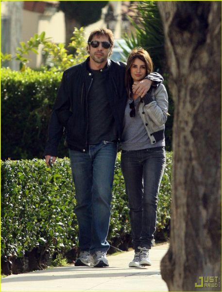 Хавьер Бардем и Пенелопа Крус: влюбленные в Лос-Анджелесе