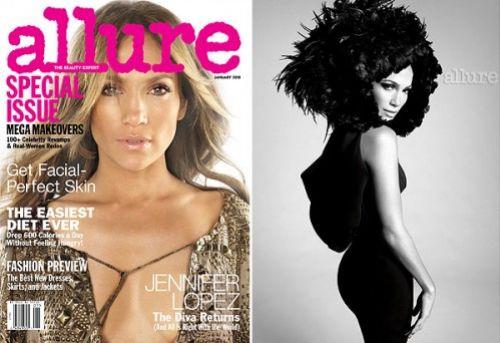 Дженнифер Лопес для журнала Allure. Январь 2010