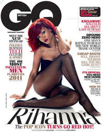 Рианна в журнале GQ. Январь 2011