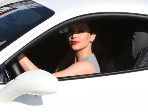 Новая машина Ким Кардашиан